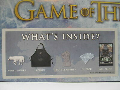HBO's GAME OF THRONES CULTUREFLY BOX VINYL FIGURE ART PRINT Collectors box gift