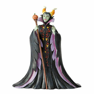 Jim Shore New 2019 Disney Traditions MALEFICENT HALLOWEEN-CANDY CURSE 6002834