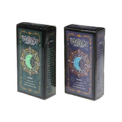 Student Tarot Cards With Colorful Box Mysterious Astrology Divination Board Game