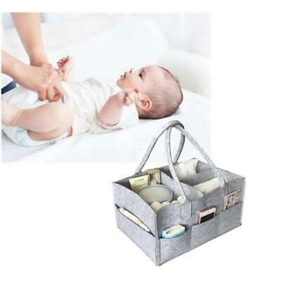 Mummy Maternity Baby Changing Bag Nappy Diaper Wipe Clean Overnight LA