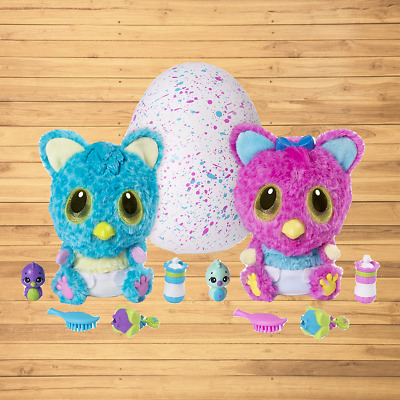 Hatchimals HatchiBabies Cheetree Hatching Egg with Interactive Pet Baby Styles 5