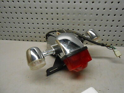 W2 2017 Wolf Jet Classic Black Scooter OEM Tail Light Assembly