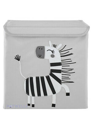 Zebra Storage Box