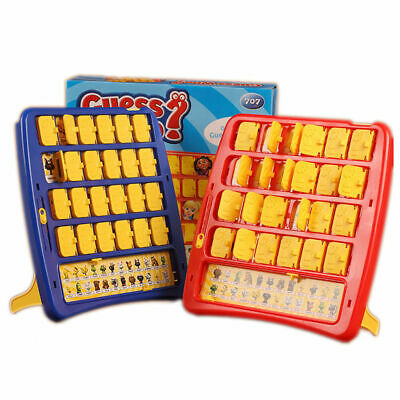 Family Board Game GUESS WHO Face Game Kids Party Games