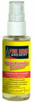 Pine Ridge Archery Products Pine Ridge Accelerator For Instant Arrow Glue 2fl Oz