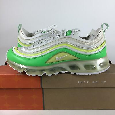 NIKE AIR MAX 97 360 Radiant Green Yellow White Mens Size 12