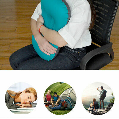 Comfortable Portable TPU Inflatable Pillow for Backpack Trip Travel Inflating