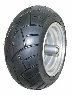Dixie Chopper OEM Complete Front Wheel With 15x6.00-8 Motorcycle Tire 400439