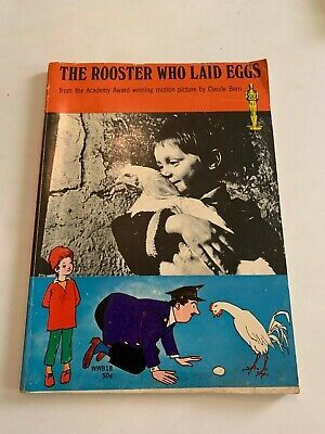 1968 The Rooster Who Laid Eggs by Robin Fox Young Readers Press 1st Printing