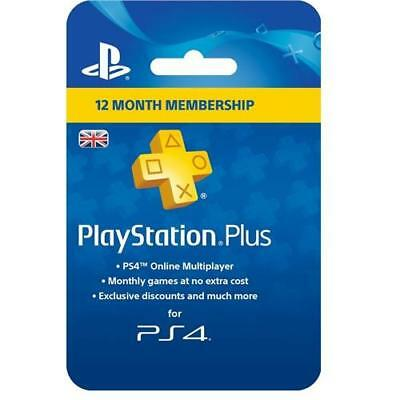 Sony PlayStation Plus Card - 365 Day Subscription 1 Year Membership