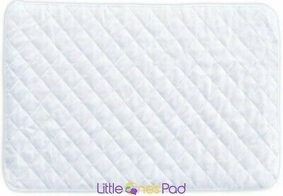 Little One's Pad Pack N Play Crib Mattress Cover Fits Most Baby Portable Cribs