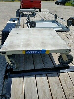 "Heavy Duty Steel Dolly Cart - 36"" x 36"""