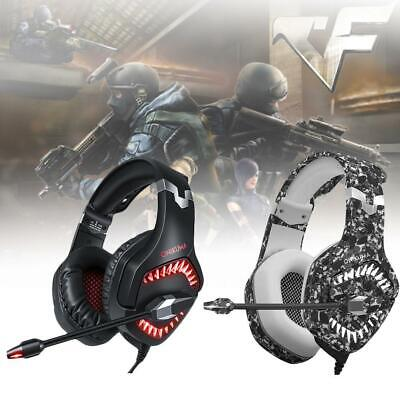 ONIKUMA K1PRO Gaming Headset Stereo LED Headphone For XBOX-One PlayStation4 SP