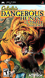 Cabela's Dangerous Hunts Ultimate Challenge - Sony PSP by Activision Inc.