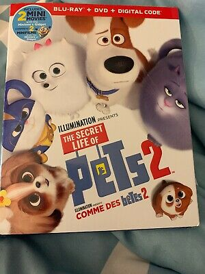 Secret Life Of Pets 2 Blu-ray + DVD + Digital Code Illumination