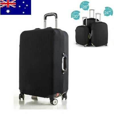 Protective Luggage Skin Cover Elastic Travel Suitcase Dust Cover Case AU 3 Sizes