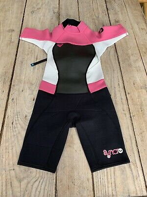 Let's Go Surfing!! ☀️ Fabulous QUIKSILVER Sunar 2.2 Shortie WETSUIT, 6 Years