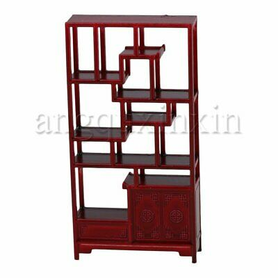 Rose Wood Oriental Chinese Style Miniature Cabinet Home Furniture Decor