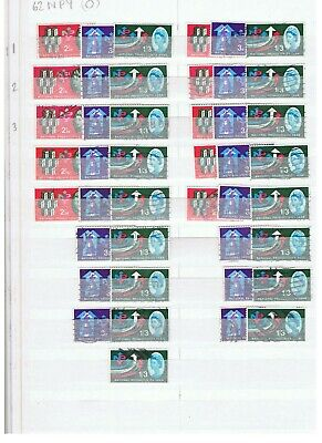 GB 1962 NPY ORDINARY Selection of USED Stamps. RETIREMENT SALE #4