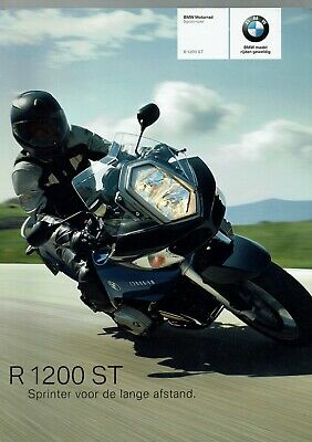 Original brochure BMW R 1200 ST - Nederlands - 30 pagina,s