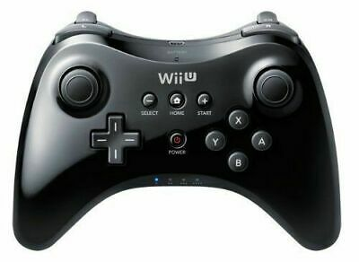 Official Genuine Wii U Pro Controller Wireless Gamepad Black for Nintendo K40