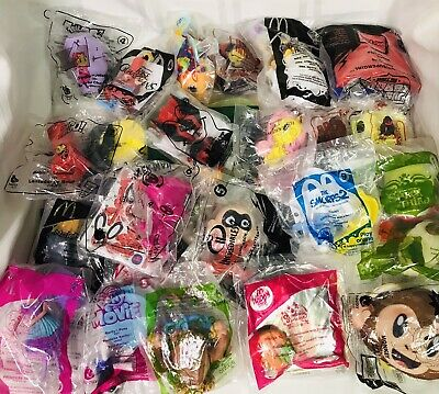 Mixed Lot of 25 (No Duplicates) McDonald's Happy Meal Toys - NIP