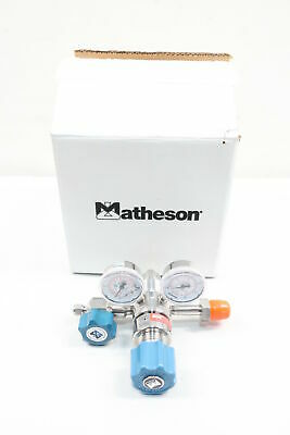 Matheson 3810-580 Tri-gas Dual Stage Regulator