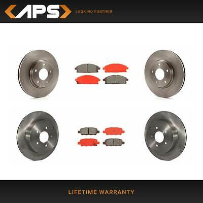 OE Replacement Rotors Ceramic Pads F+R 2014 2015 Fits Nissan Quest