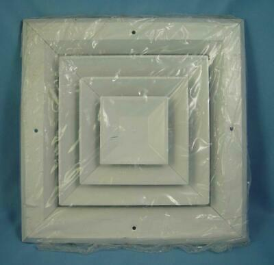 """HART & COOLEY  8"""" x 8"""" SQUARE CEILING OR SIDEWALL DIFFUSER - A504MSW0808  -NEW -"""