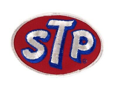"X1 Vintage ""STP"" Automotive Auto Oil Hat Jacket Patch!"