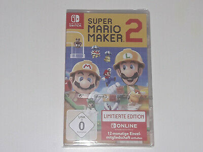 Nintendo Switch Spiel Super Mario Maker 2 Limited Edition Neu