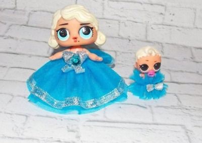 LOL Surprise Doll a beautiful family look: 2 dresses-Pretend Play Set NO Doll