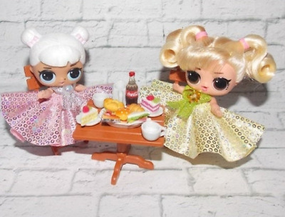 ONSALE LOL Surprise Doll Big sister set- dining room, birthday, party - no doll