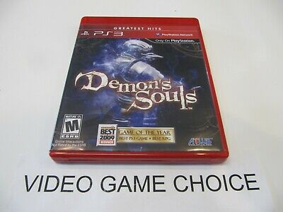 Demon's Souls (Sony PlayStation 3, 2009) TESTED Good Condition