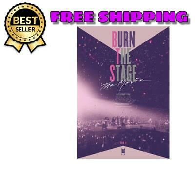 BTS BURN THE STAGE Movie Ticket card photocard 2018 official
