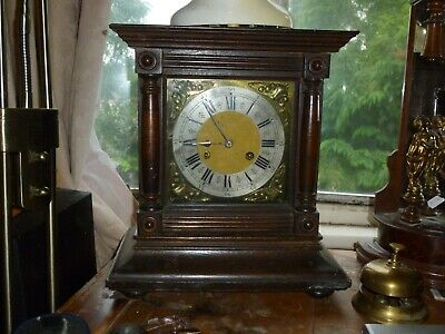 Magnificent 36 Inches Art Deco Chiming Pendulum Working Decorative 8 Day Clock