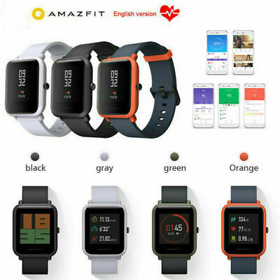 Xiaomi Huami AMAZFIT BIP GPS Smartwatch Heart Rate Monitor Global Version
