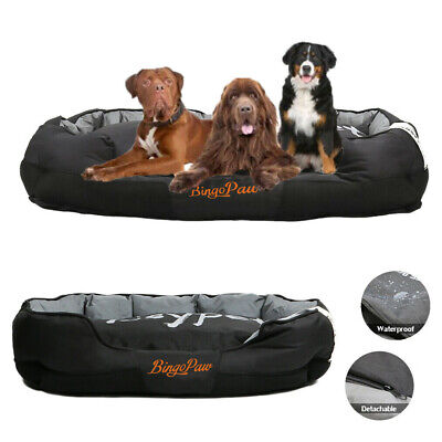Waterproof Orthopedic Dog Bed Lounge Sofa Extra Large XL Dog Bed Removable Cover