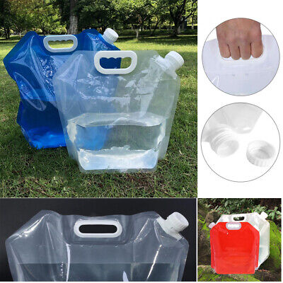 1.5/2.5/5L Foldable Picnic Bucket Storge Container Portable Bag Water Bags
