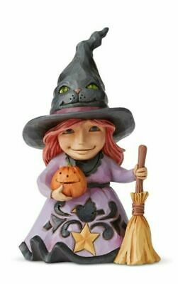 Jim Shore New 2019 HALLOWEEN PINT SIZED FRIENDLY WITCH 6004331 WELCOME THE MAGIC