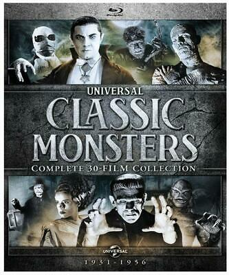 Universal Classic Monsters: Complete 30-Film Collection 21 DISC DVD BOX SET