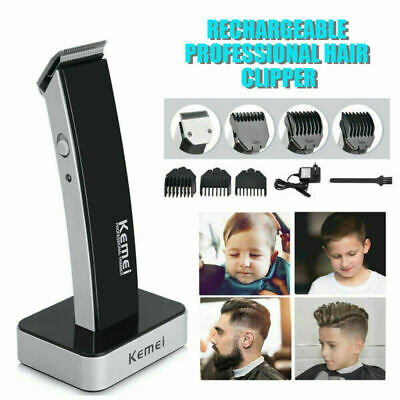 Electric Hair Clipper Shave Machine Razor Trimmer Haircut Set Rechargeable UK