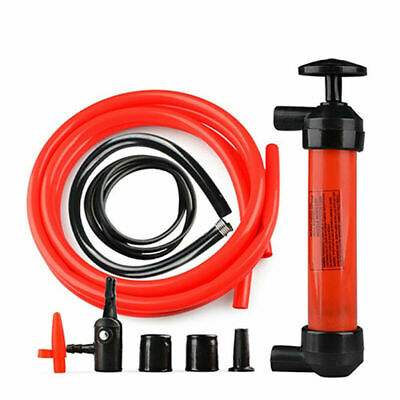 Handheld Liquid Transfer Gas Oil Fish Tank Siphon Water Pump Battery Operated