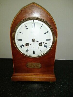 Edwardian Lancet Wheaton & Bennett Mantle Clock