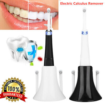 1x Electric Dental Scaler Tartar Calculus Plaque Remover Tooth Stains Device Kit