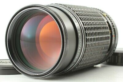 [ Excellent+++++ ] SMC Pentax M 200mm F/4 Telephoto MF Lens K Mount From Japan