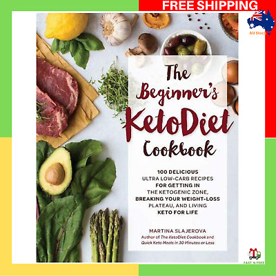 The Beginner's Keto Diet Cookbook Ketogenic Delicious Recipes Paperback Book NEW