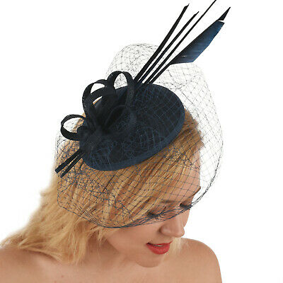 Wedding Church Evening Melbourne Cup Race Carnival Derby Day Headband Fascinator