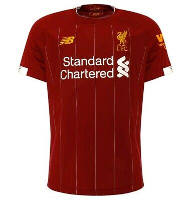 Liverpool FC Home shirt 2019/20 New With Tags Men and Women