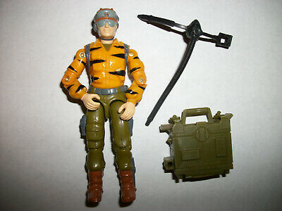 G I JOE BODY PART 1986 Lifeline       Head     C8.5 Very Good